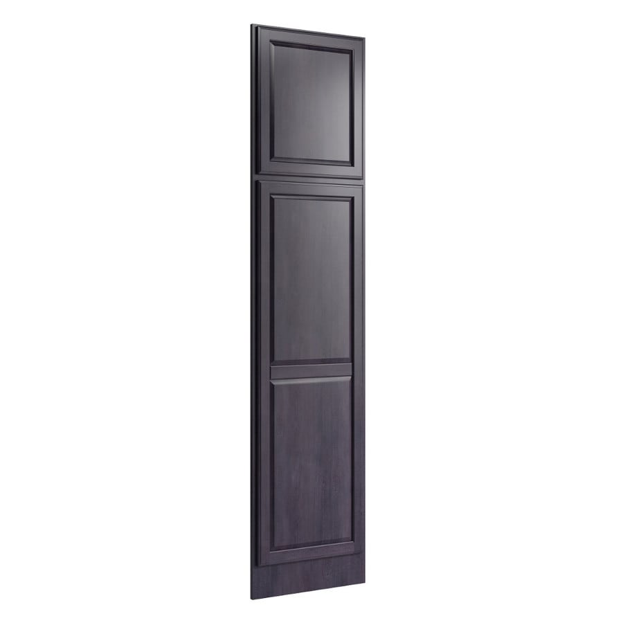 KraftMaid Momentum Dusk Standard Settler Decorative End Panel (Common: 21-in x 0.937 x 90-in; Actual: 20.25-in x 0.937 x 90-in)