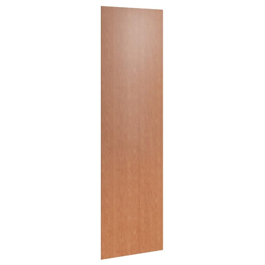 KraftMaid Momentum Hazelnut Standard Bellamy Flush-Fit End Panel (Common: 24-in x 0.187 x 84-in; Actual: 23.25-in x 0.187 x 84-in)