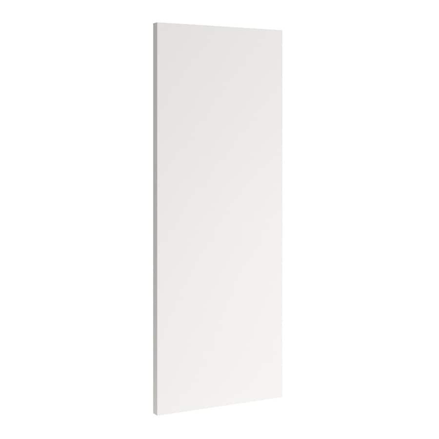 KraftMaid Momentum Cotton Standard Bellamy Flush-Fit End Panel (Common: 12-in x 0.187 x 30-in; Actual: 11.25-in x 0.187 x 30-in)