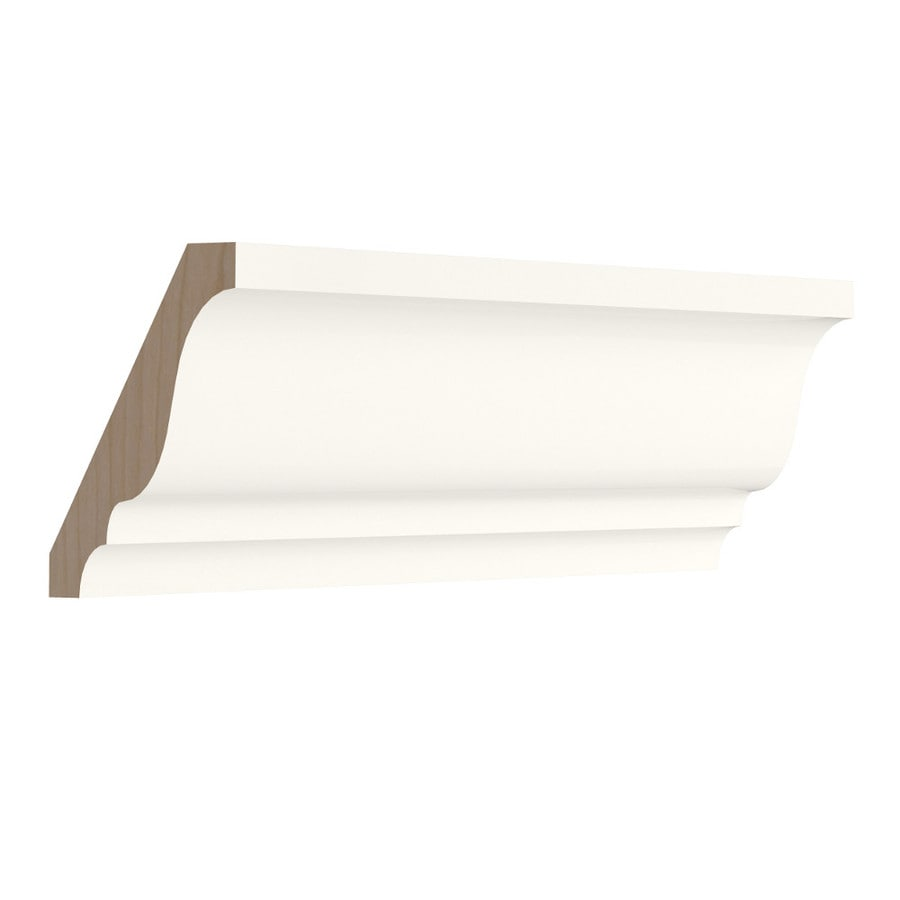 KraftMaid Momentum Cotton Standard Bellamy Crown Moulding (Common: 96-in x 1.5-in x 2.25-in; Actual: 96-in x 1.5-in x 2.25-in)