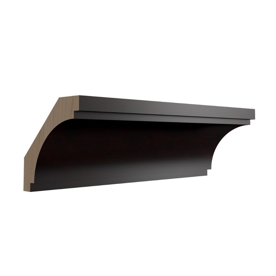 KraftMaid Momentum Kona Contemporary Bellamy Crown Moulding (Common: 96-in x 2.625-in x 2.625-in; Actual: 96-in x 2.625-in x 2.625-in)