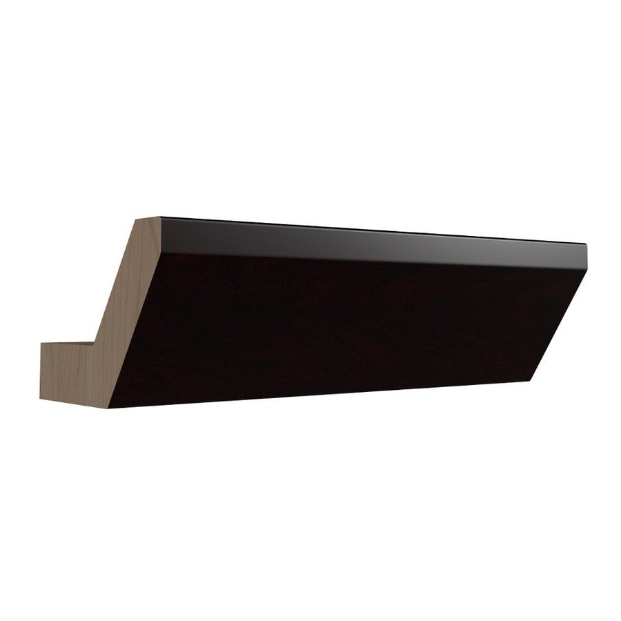 KraftMaid Momentum Kona Standard Bellamy Crown Moulding (Common: 96-in x 3.187-in x 2.312-in; Actual: 96-in x 3.187-in x 2.312-in)