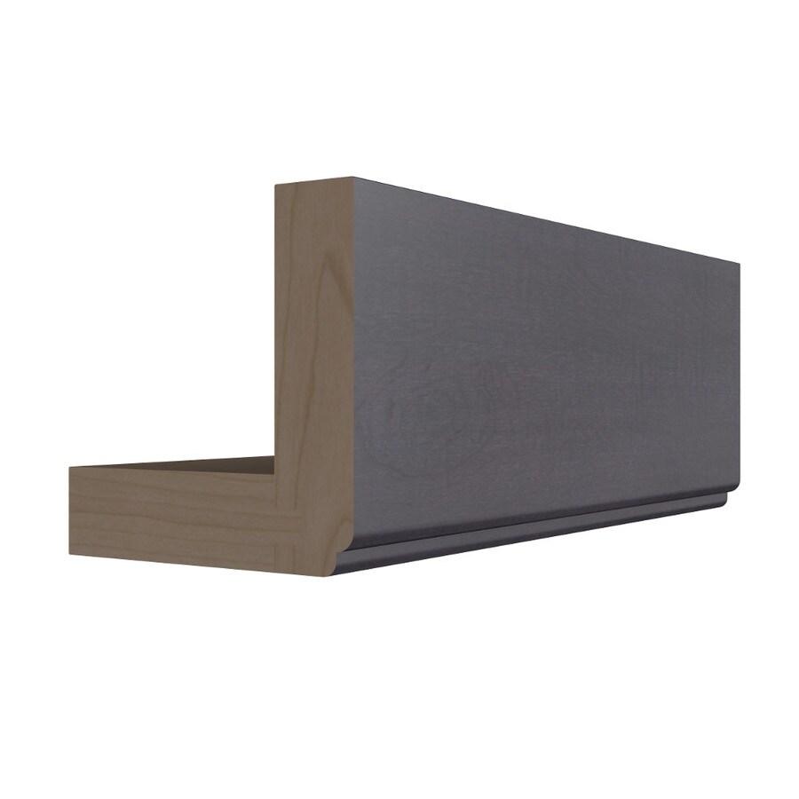 KraftMaid Momentum Dusk Standard Bellamy Starter Moulding (Common: 96-in x 3-in x 3-in; Actual: 96-in x 3-in x 3-in)