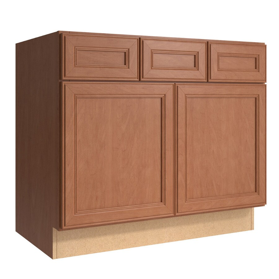 KraftMaid Momentum Bellamy Hazelnut Bathroom Vanity