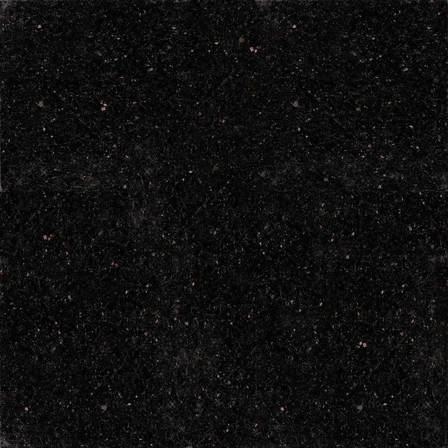 Shop kraftmaid momentum 4 in x 4 in black galaxy granite for Granit galaxy
