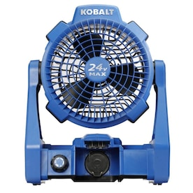 Kobalt Hybrid 24-Volt Max Jobsite Fan (Battery Not Included)