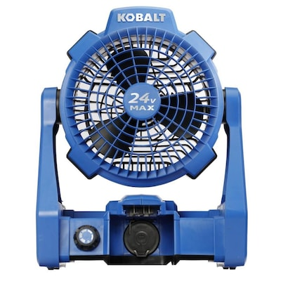 Kobalt Hybrid 24-Volt Max Jobsite Fan (Battery Not Included