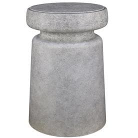 Allen Roth 20 47 In Faux Cement Indoor Outdoor Plant Stand