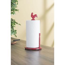 Home Basics Metal Freestanding Paper Towel Holder