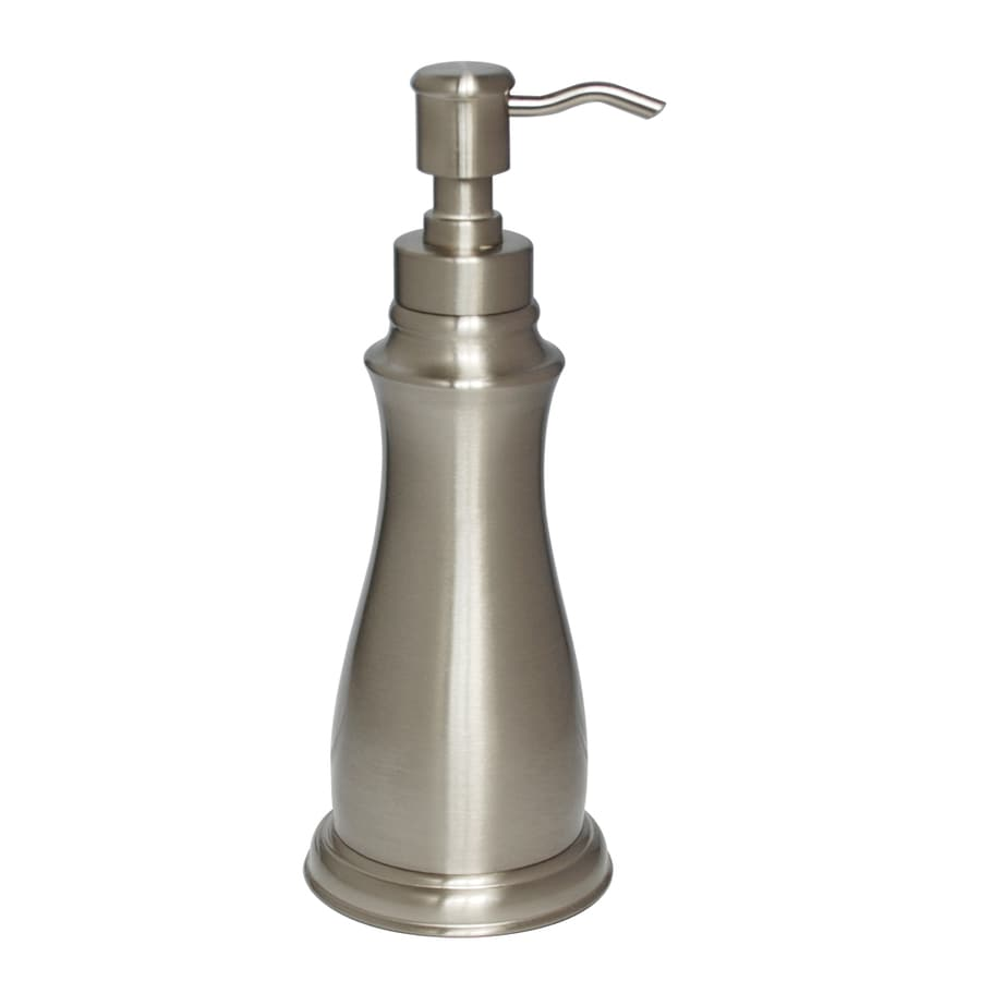 Allen Roth Mitchell Brushed Nickel Soap And Lotion Dispenser At