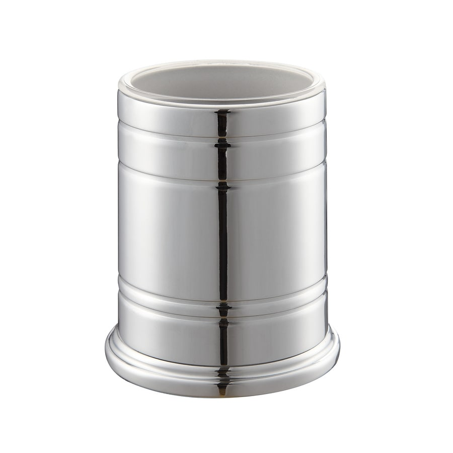 Style Selections Middlecrest Chrome Metal Tumbler