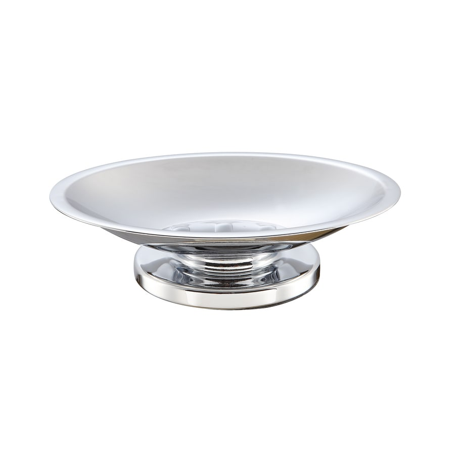 Style Selections Middlecrest Chrome Metal Soap Dish