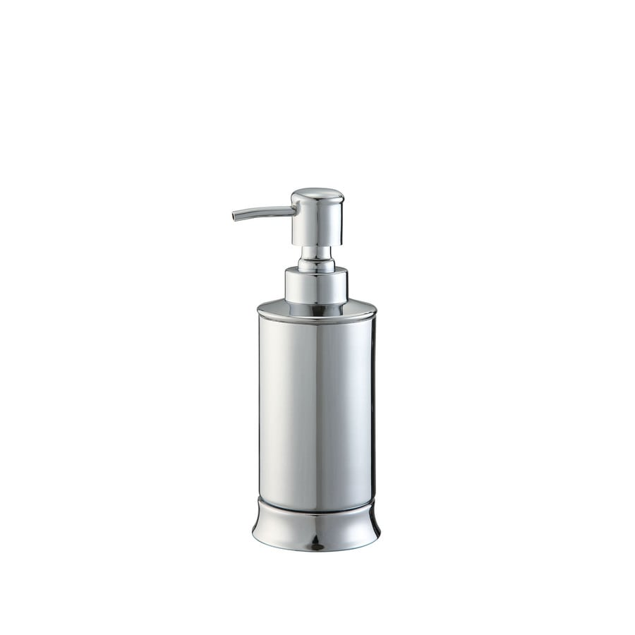 allen + roth Brinkley Chrome Soap and Lotion Dispenser