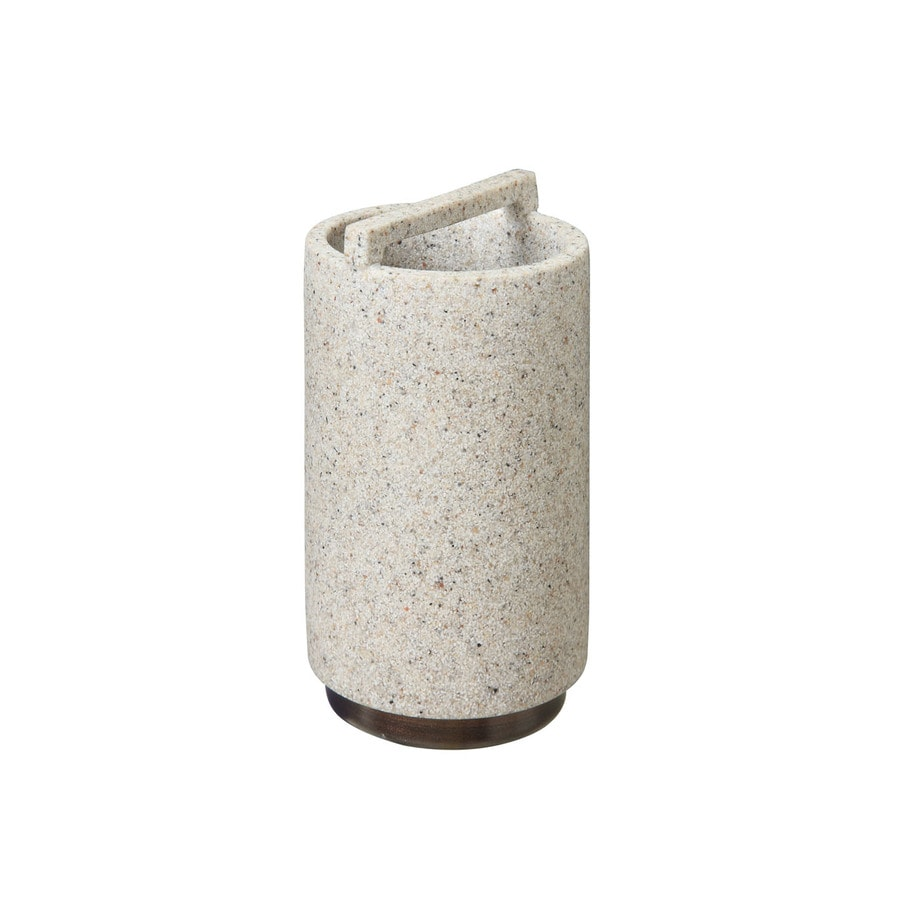 Style Selections Cambry Stone Taupe Toothbrush Holder