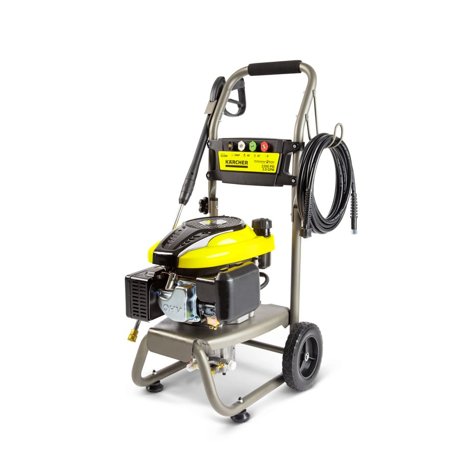 Karcher 2200-PSI 2-GPM Cold Water Gas Pressure Washer CARB
