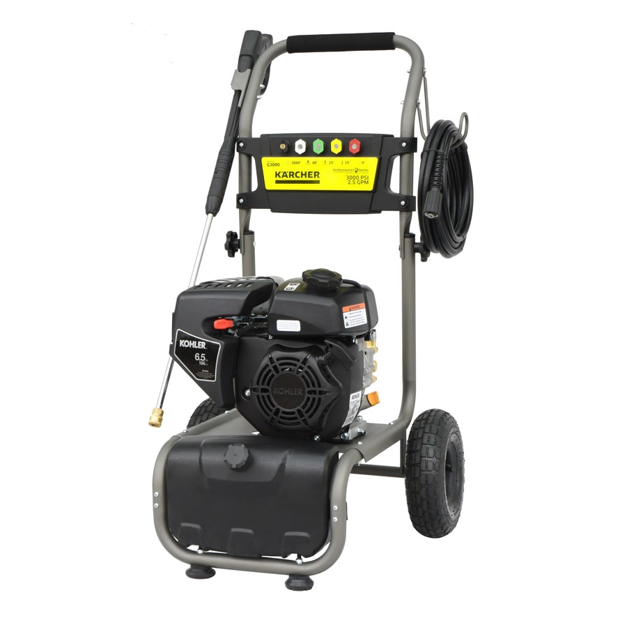 Karcher 3000-PSI 2.5-GPM Cold Water Gas Pressure Washer CARB