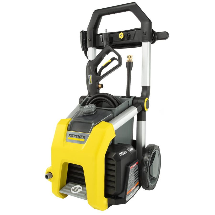 Karcher K1810 1800-PSI 1.2-GPM Cold Water Electric Pressure Washer