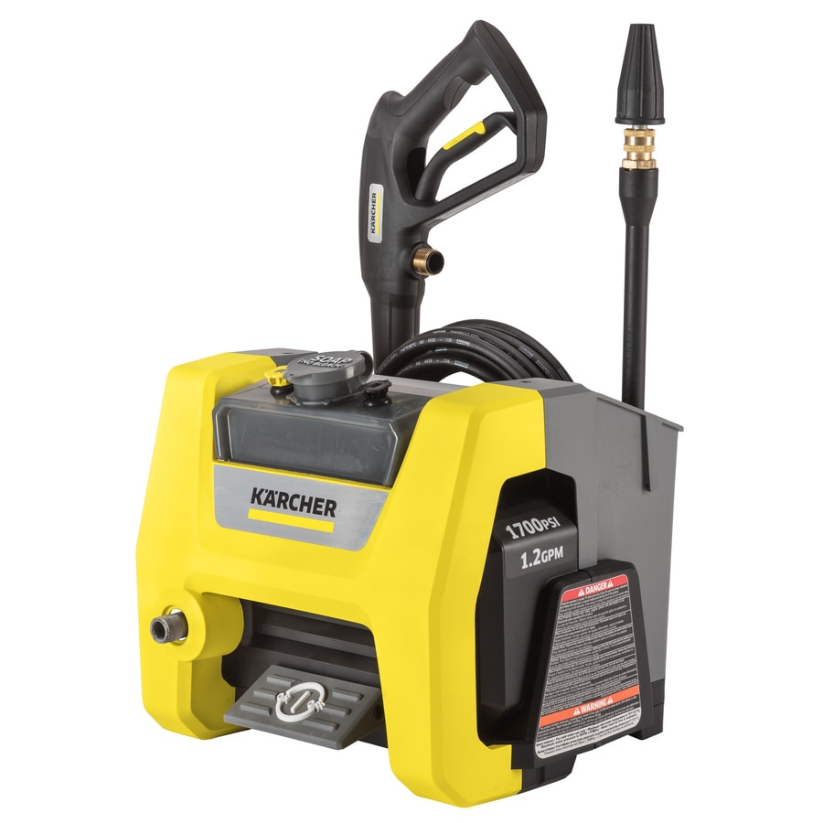 Karcher K1710 Cube 1700-PSI 1.2-GPM Cold Water Electric Pressure Washer