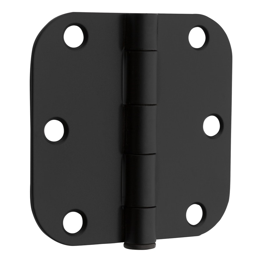 Gatehouse 3.5-in H Oil-Rubbed Bronze Radius Interior Mortise Door Hinge