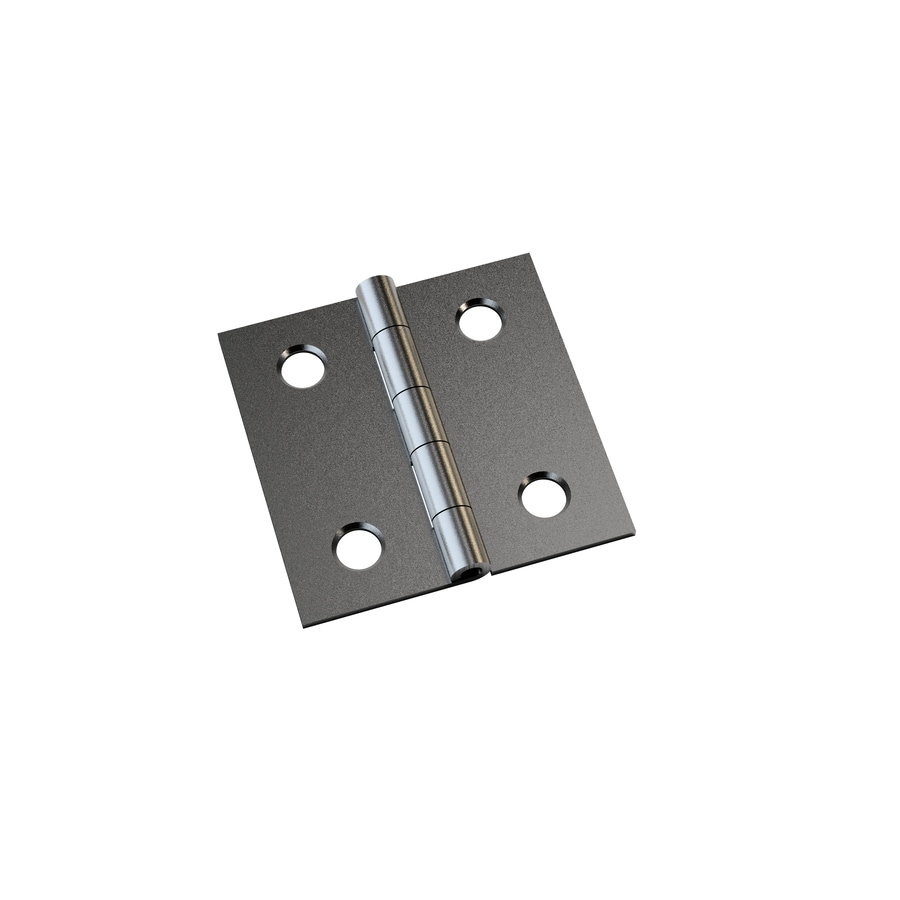 Gatehouse 4-Pack 1-in H Satin Nickel Interior Mortise Door Hinge