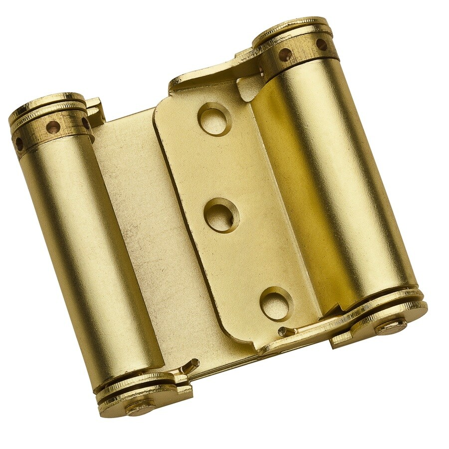 Gatehouse 1.25-in H Satin Brass Interior Pivot Door Hinge