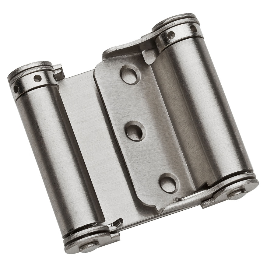 National Hardware 1.25-in H Satin Nickel Radius Interior Pivot Door Hinge  sc 1 st  Lowe\u0027s & Shop National Hardware 1.25-in H Satin Nickel Radius Interior Pivot ...