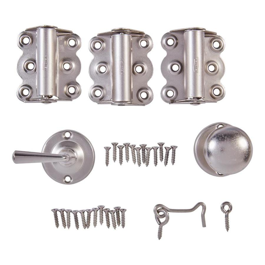 National Hardware Steel Screen Door and Storm Door Handle Set And Hardware Kit