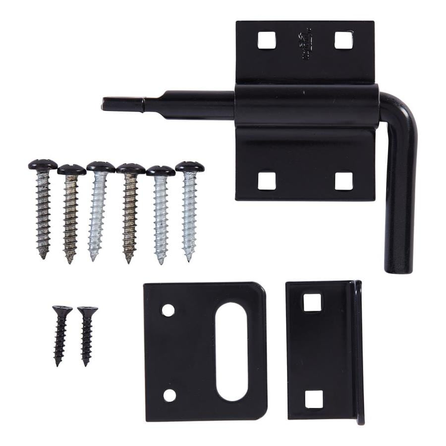 National Hardware Steel Painted Gate Latch At Lowes Com