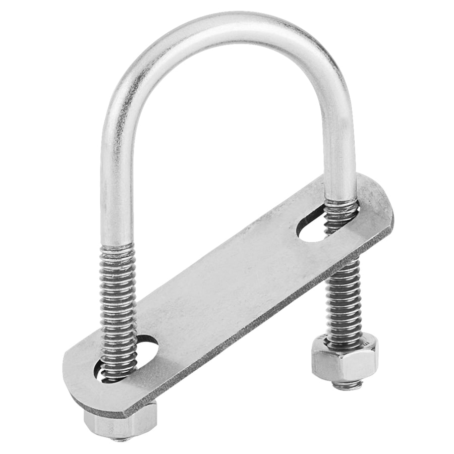 National Hardware 1 Count 2.75-in W x 1.375-in L x 1/4-in Dia Stainless Steel U-Bolt