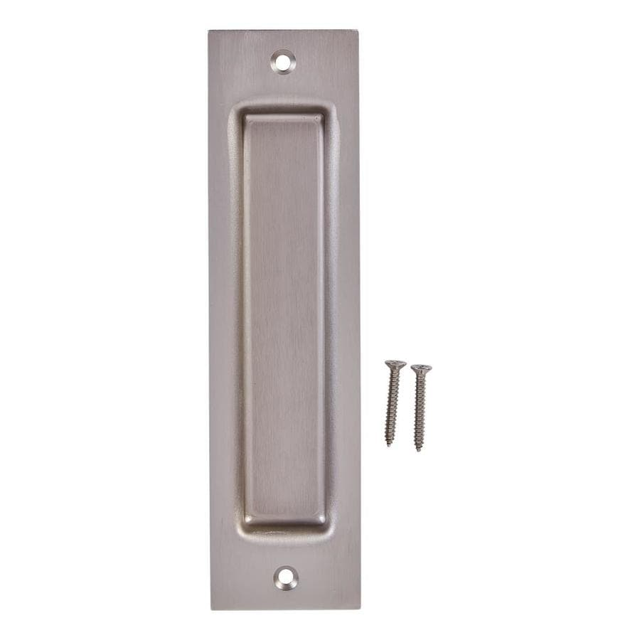 sliding closet door handle hardware. National Hardware 0.9375-in Satin Nickel Sliding Closet Door Pull Handle C