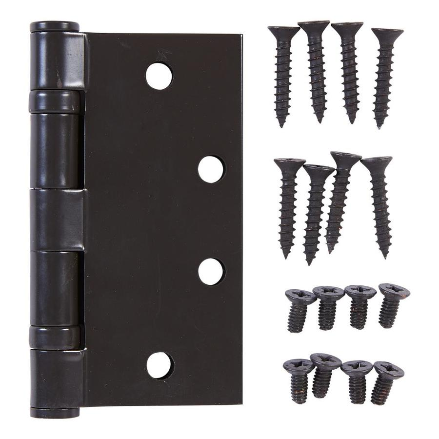 National Hardware 4 1 2 In Oil Rubbed Bronze Barrel Door