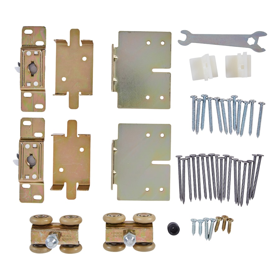 Pocket Door Track Hardware shop national hardware pocket door hardware kit at lowes
