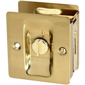 national hardware 275in satin brass pocket door pull