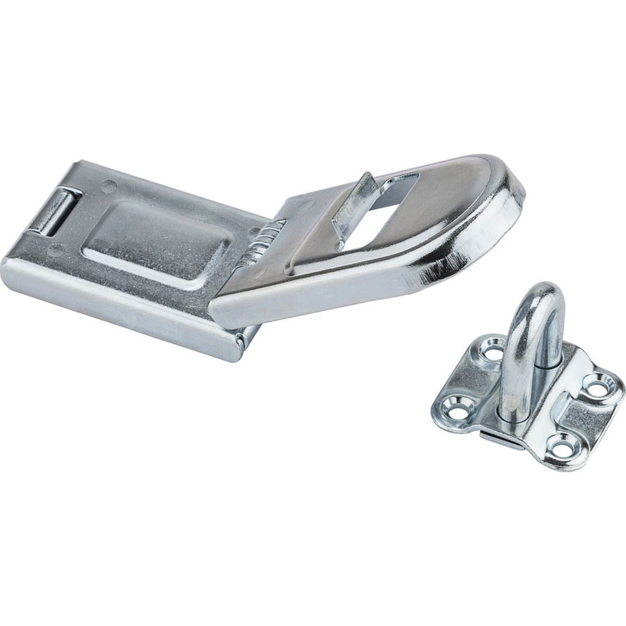 Gatehouse 6.5-in Steel Hinge Hasp