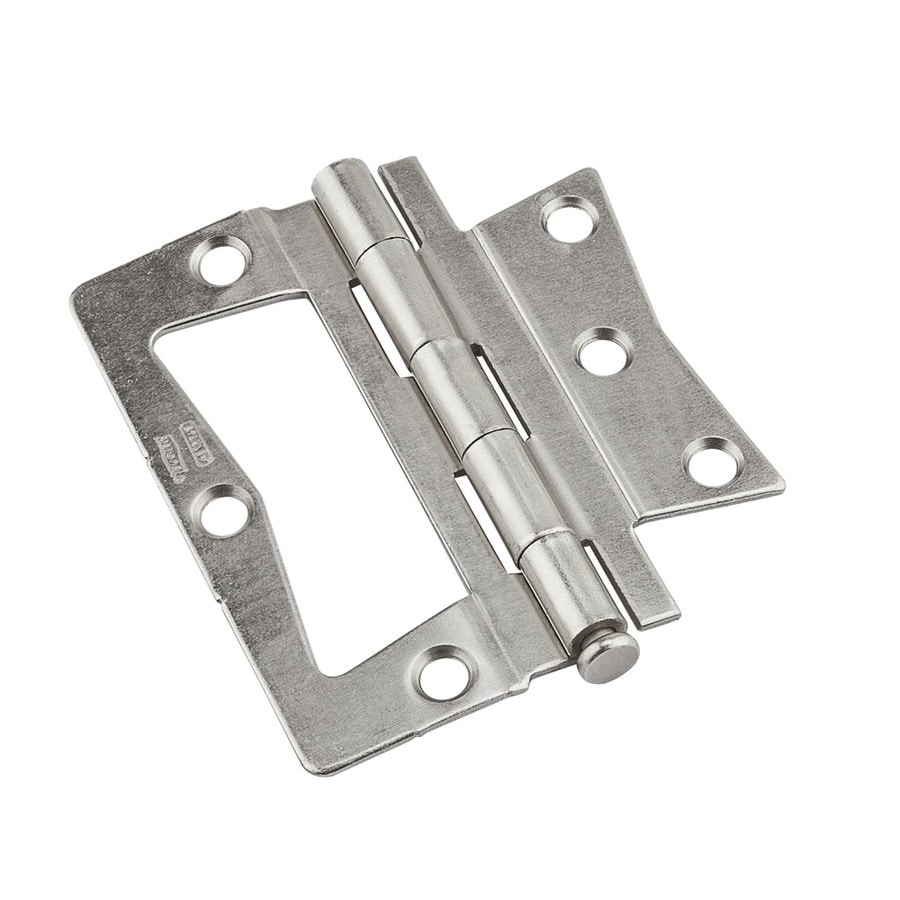 National Hardware 2-Pack Satin Nickel Bifold Closet Door Hinge  sc 1 st  Lowe\u0027s & Shop National Hardware 2-Pack Satin Nickel Bifold Closet Door Hinge ...