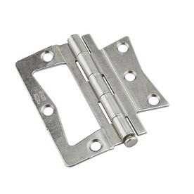 Perfect National Hardware 2 Pack Satin Nickel Bifold Closet Door Hinge