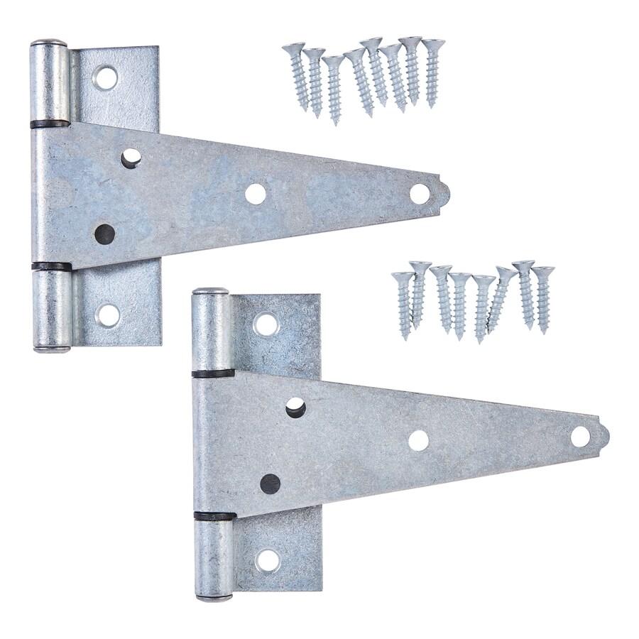 National Hardware 4.467-in H  Radius Exterior Strap Door Hinge