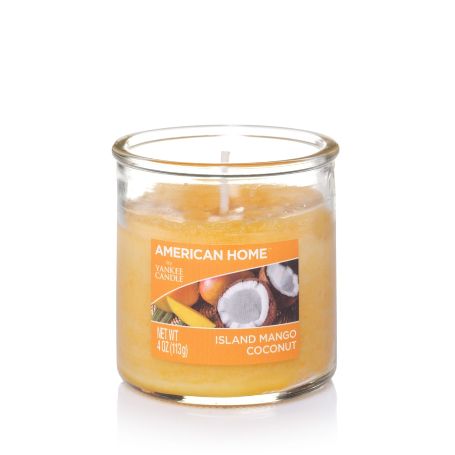 American Home 4-oz Island Mango Coconut Any Occasion Jar Candle