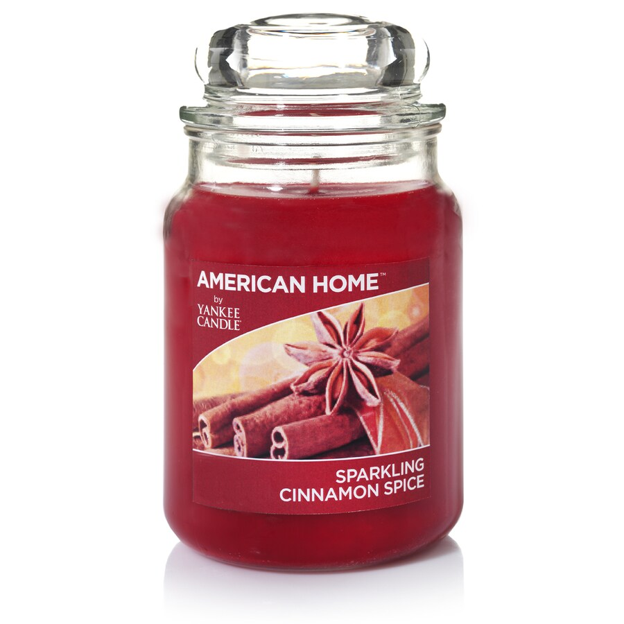 American Home 19-oz Cinnamon Spice Any Occasion Jar Candle