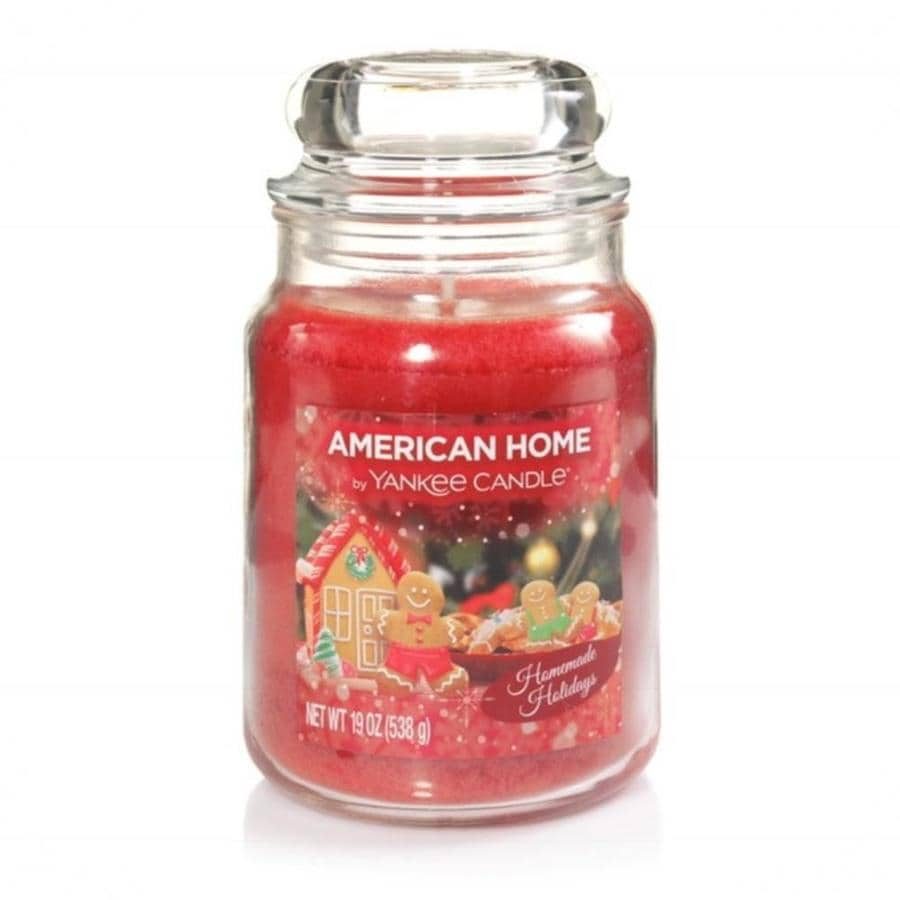 American Home 19-oz 1-Wick Christmas Jar Candle