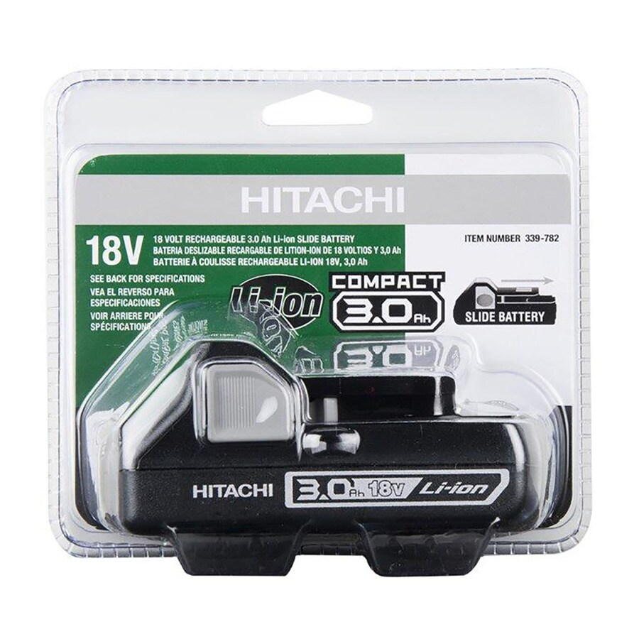 Hitachi 18-Volt 3.0-Amp Hours Lithium Power Tool Battery