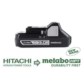 Metabo Hpt-339782M 18-Volt Compact 3.0-Amp Hour Lithium Ion Battery