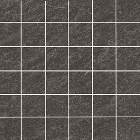 Style Selections Galvano Charcoal Porcelain Granite Border Tile Common 12 In X