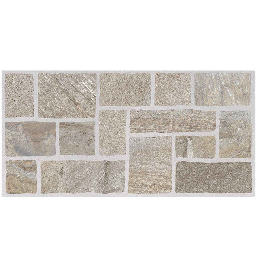 Style Selections Nutrasand Tusk Porcelain Granite Floor and Wall Tile (Common: 12-in x 24-in; Actual: 11.79-in x 23.7-in)