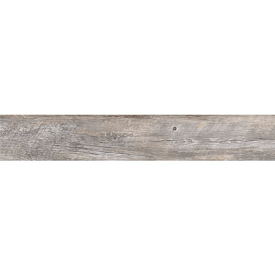 Natural Timber Ash 8 In X 48 Porcelain Wood Look Floor And Wall Tile Common Actual 7 72 47 4
