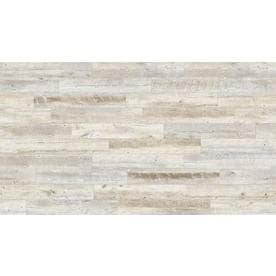 Style Selections Natural Timber Whitewash Porcelain Wood Look Floor And Wall Tile Common 6