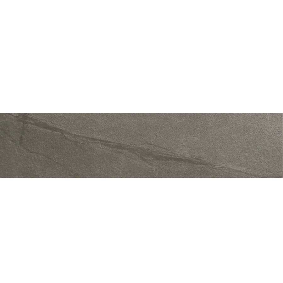 Style Selections Dover Valley Titanium Porcelain Floor and Wall Tile (Common: 3-in x 12-in; Actual: 11.85-in x 2.82-in)