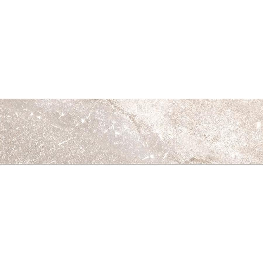 Style Selections Palancia Pearl Porcelain Marble Floor and Wall Tile (Common: 3-in x 12-in; Actual: 11.85-in x 2.82-in)