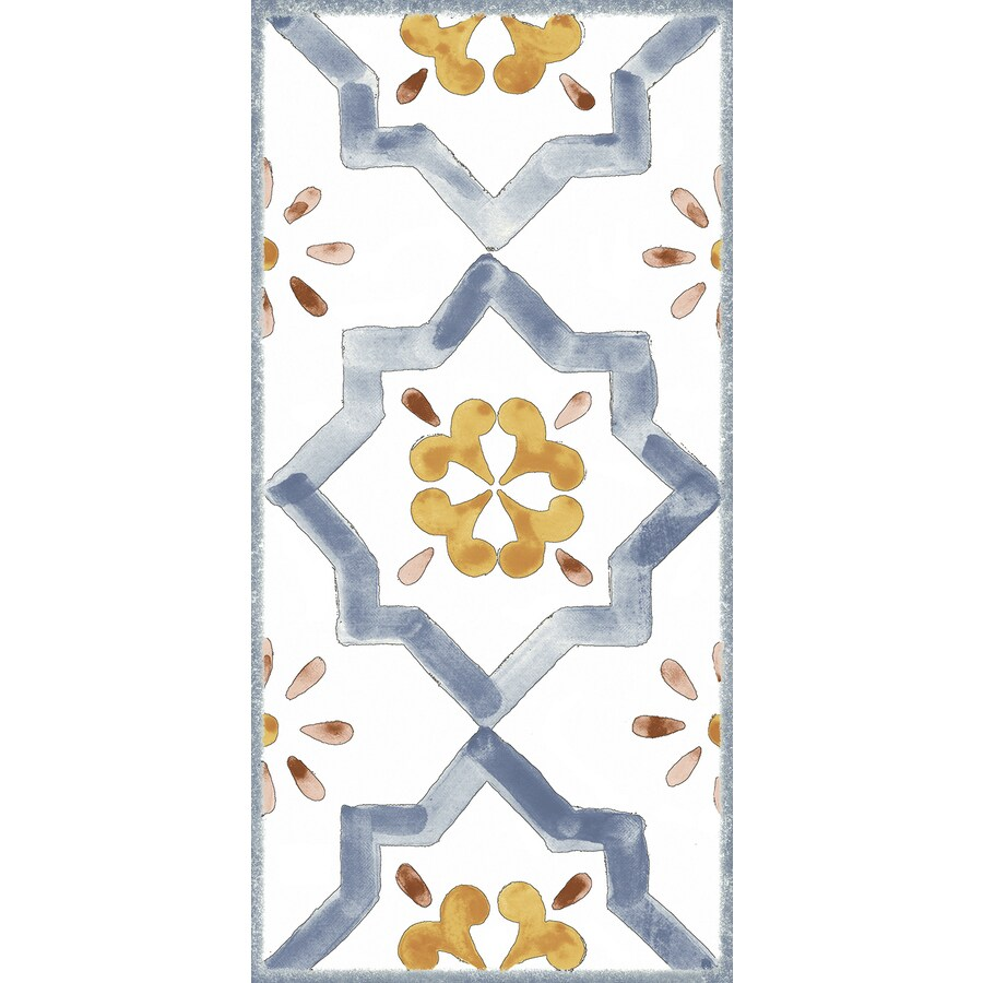 American Villa American Classics Porcelain Wall Tile (Common: 4-in X 8-in; Actual: 7.87-in x 3.91-in)