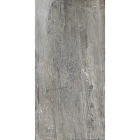 American Villa Spa Ash 12-in x 24-in Porcelain Granite Tile (Common: 12-in x 24-in; Actual: 11.85-in x 23.85-in)